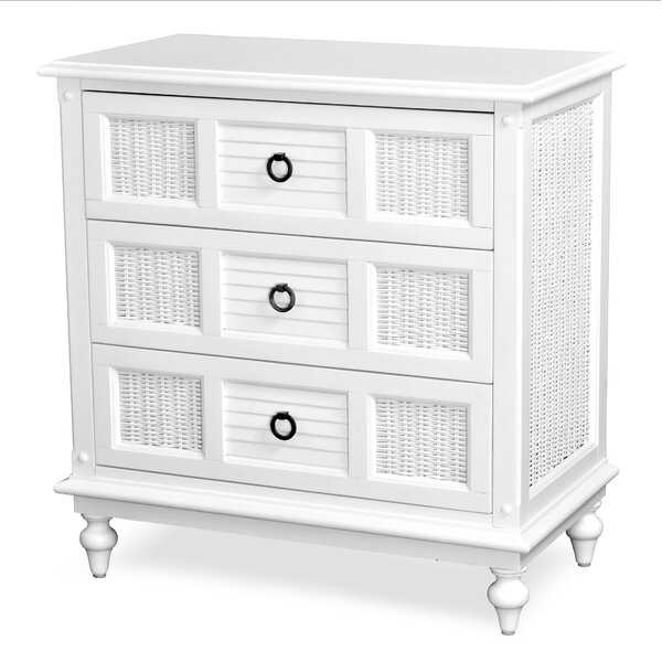 Mathews 3 Drawer Bachelors Chest by Bayou Breeze