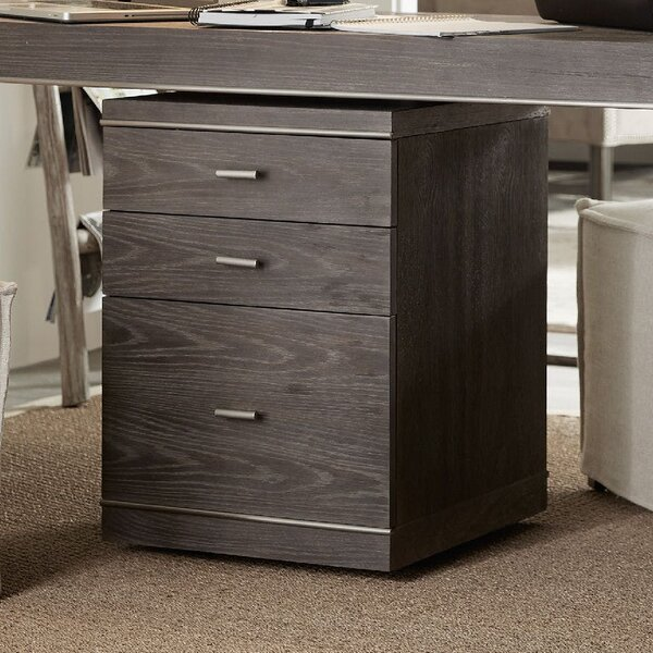 House Blend 3-Drawer Mobile Vertical Filing Cabinet by Hooker Furniture