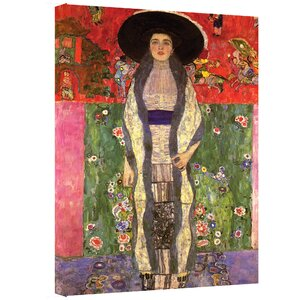 ''Adele Bloch Bauer'' by Gustav Klimt Print of Painting on Canvas by ArtWall