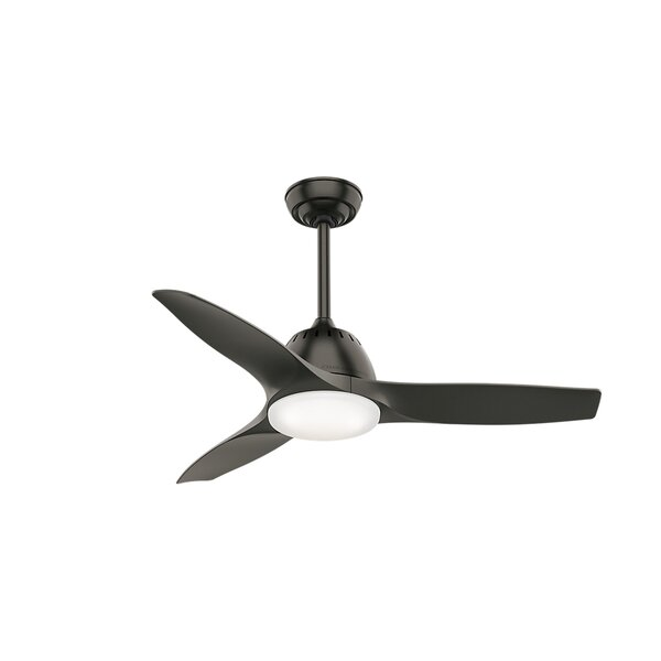 44 Wisp 3 Blade Ceiling Fan with Handheld Remote by Casablanca Fan