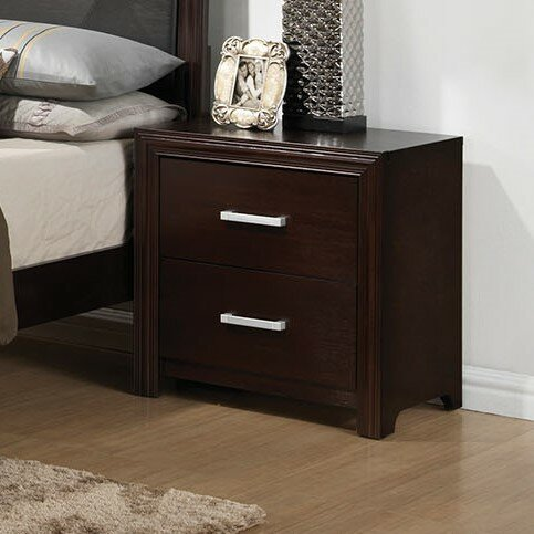 Wen Drawers Included Nightstand by Latitude Run