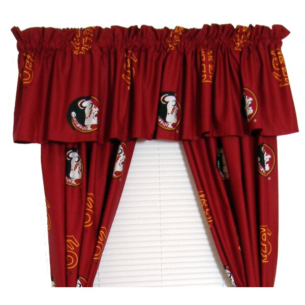 NCAA Florida State Rod Pocket Curtain Panels (Set of 2) by College Covers