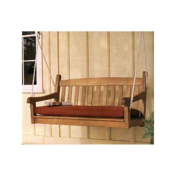 Grade A Teak Porch Swing by Highland Dunes