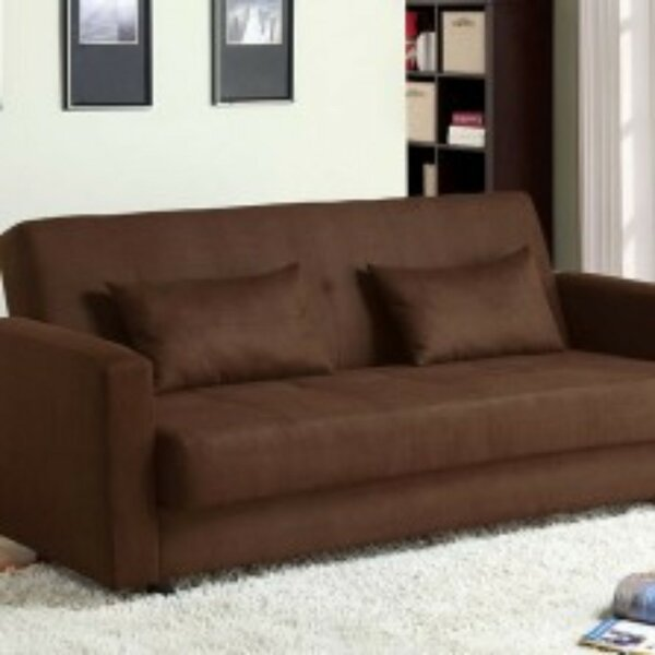 Gerst Microfiber Convertible Sofa by Latitude Run
