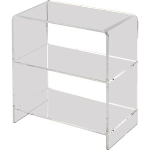 Modern Contemporary Clear Lucite Acrylic Bookcase