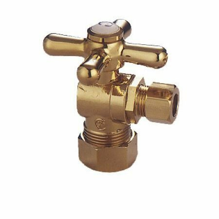 Accents Decorative Quarter Turn Valves with Cross Handles by Elements of Design