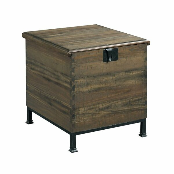 Evie End Table with Storage by Williston Forge