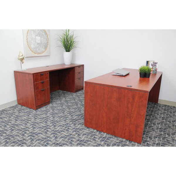 Anastacia 4 Piece Desk Office Suite by Red Barrel Studio