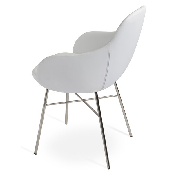 Gazel Arm Cross Dining Chair by sohoConcept sohoConcept