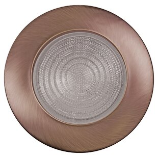 Affordable Price Metal Fresnel Shower 6 Recessed Trim By NICOR Lighting