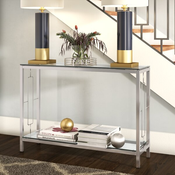 Manny 2 Tier Console Table by Willa Arlo Interiors