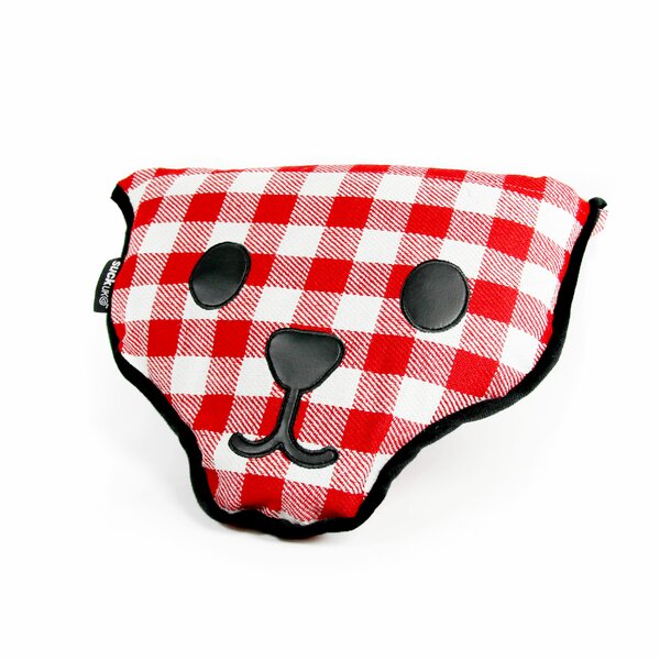 Bear Shaped Picnic Red Indoor/Outdoor Area Rug by suck UK