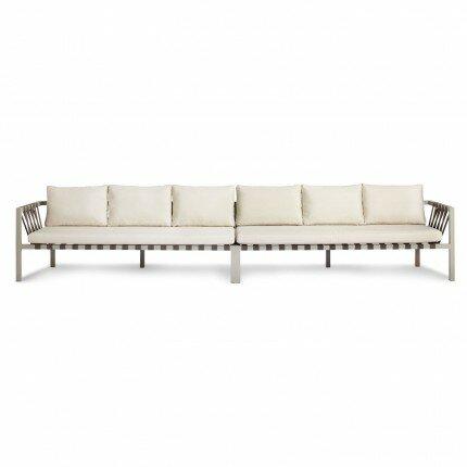 Jibe Patio Sofa with Cushions by Blu Dot Blu Dot