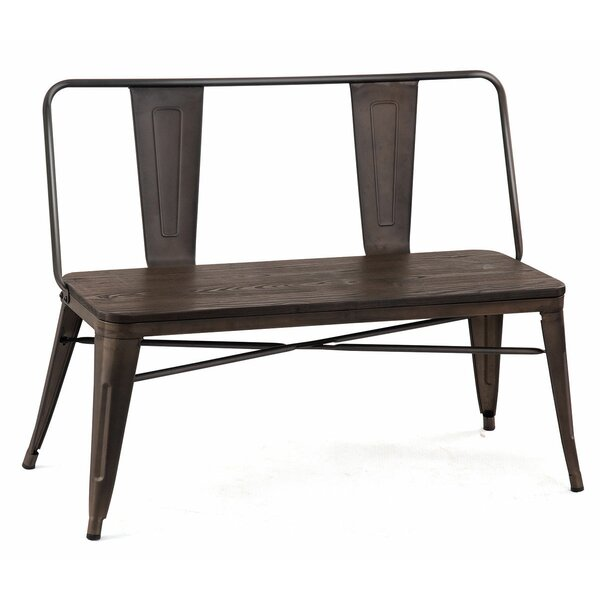 Hiro Metal Bench by Williston Forge