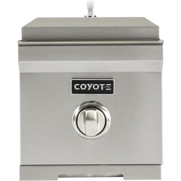 Natural Gas Single Side Burner by Coyote Grills