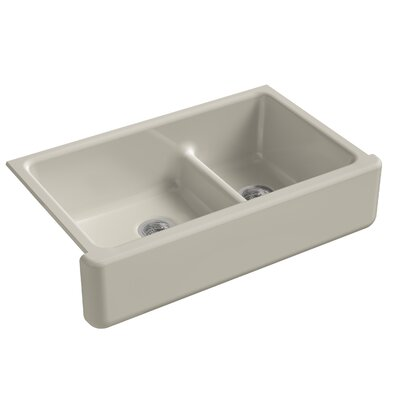 Kitchen Sink Double Bowl Tall Sandbar photo