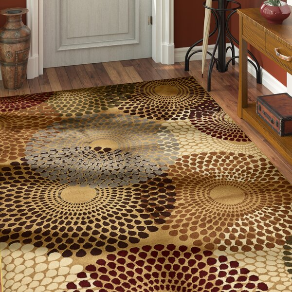 Apex Beige Area Rug by World Menagerie