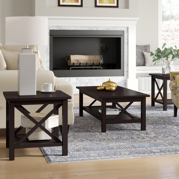 Boutwell 3 Piece Coffee Table Set by Alcott Hill