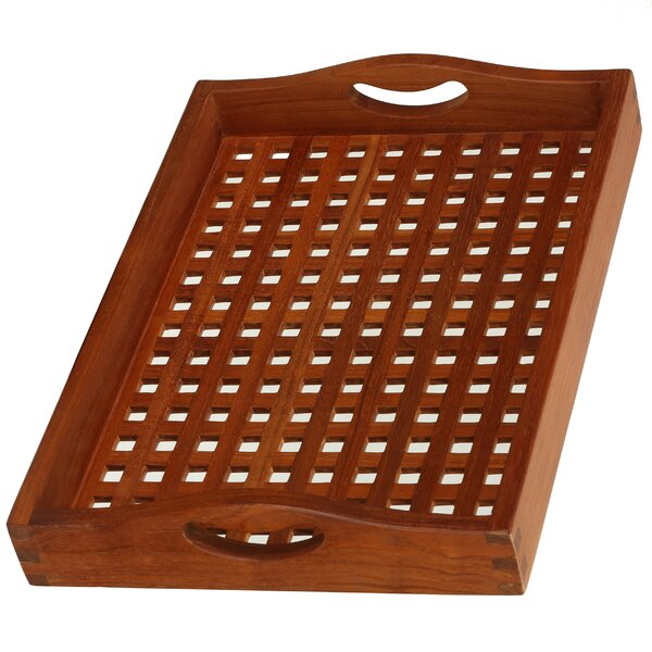 Teak Onsen Spa Tray by Bare Decor