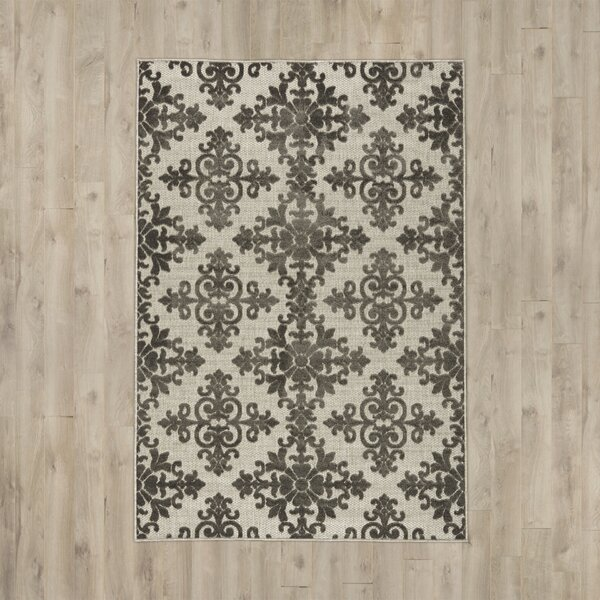 Clarence Traditional Indoor/Outdoor Area Rug by Three Posts