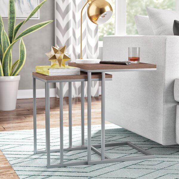 Wallick 2 Piece Nesting Tables by Brayden Studio
