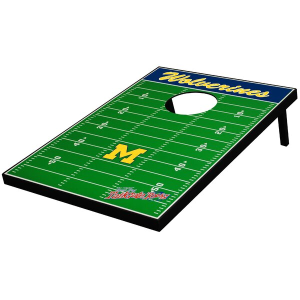 NCAA Football Cornhole Game by Tailgate Toss