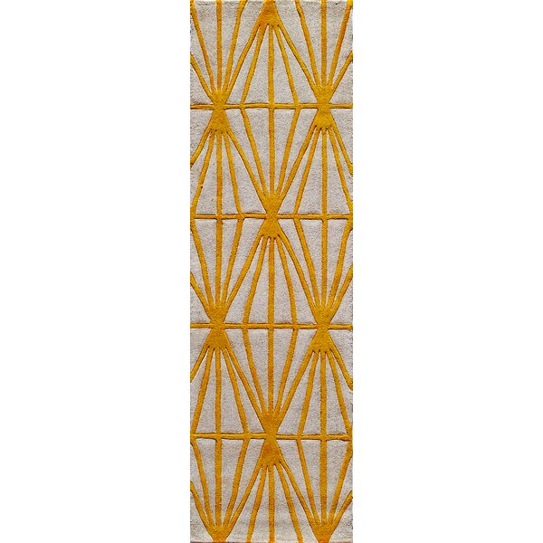 Fowler Hand-Tufted Natural Area Rug by George Oliver