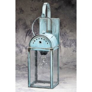 Phillipsburg 1-Light Outdoor Wall Lantern By August Grove Outdoor Lighting