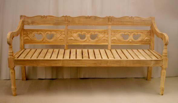 Proulx Teak Garden Bench by One Allium Way