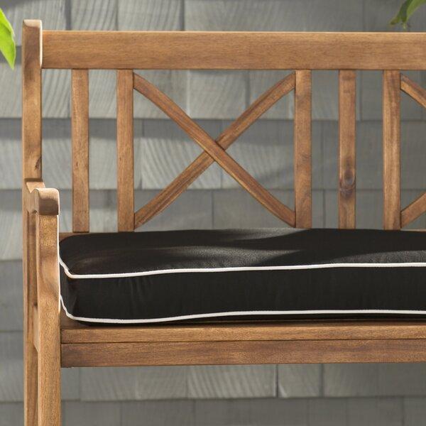 Indoor/Outdoor Sunbrella Bench Cushion by Beachcrest Home