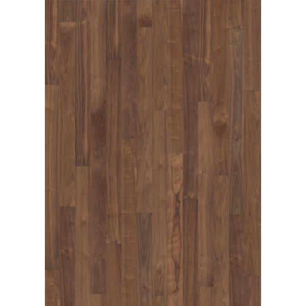 Linnea 6 Engineered Walnut Hardwood Flooring in Statue by Kahrs