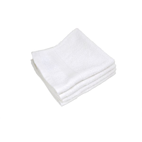 Aiyana Cotton Washcloth (Set of 12) by Charlton Home