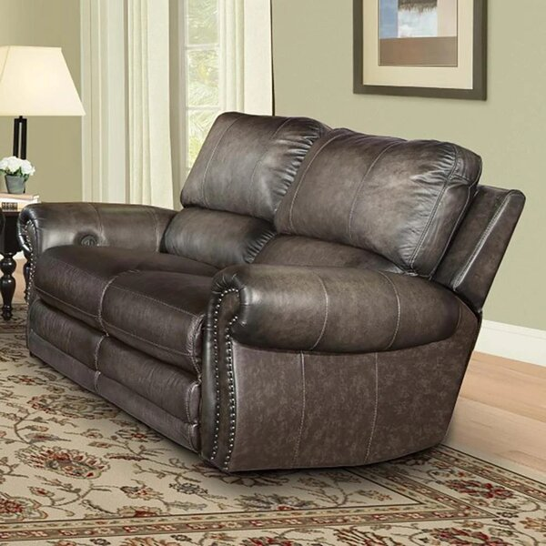 Jettie Leather Reclining Configurable Living Room Set By Canora Grey