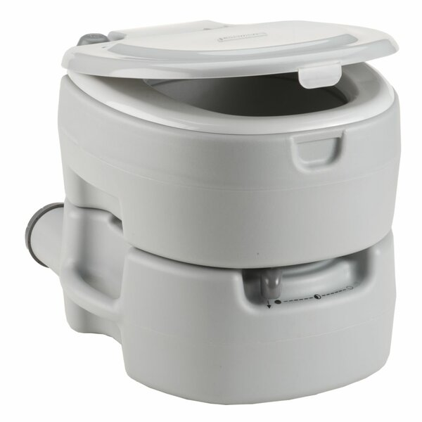 Elognated One-Piece Toilet (Seat Included) by Coleman