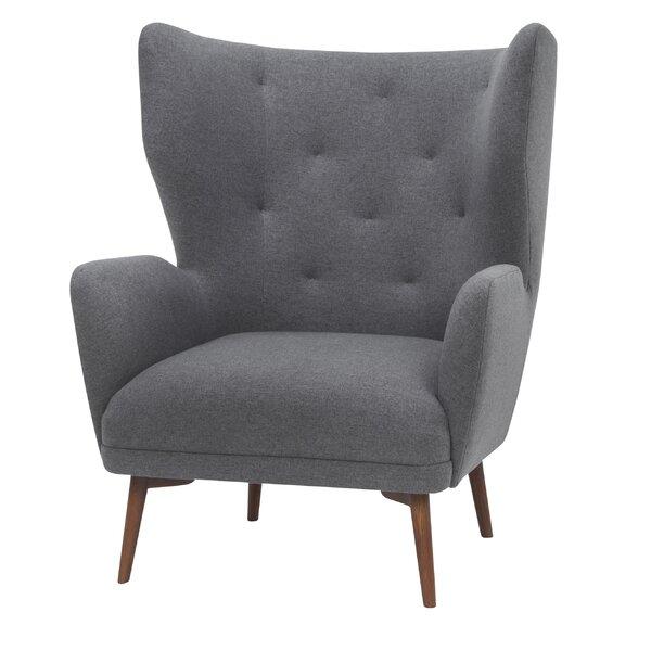 Jonathan Wingback Chair By Corrigan Studio