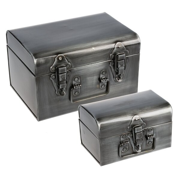 Binegar 2 Piece Trunk Set by Williston Forge