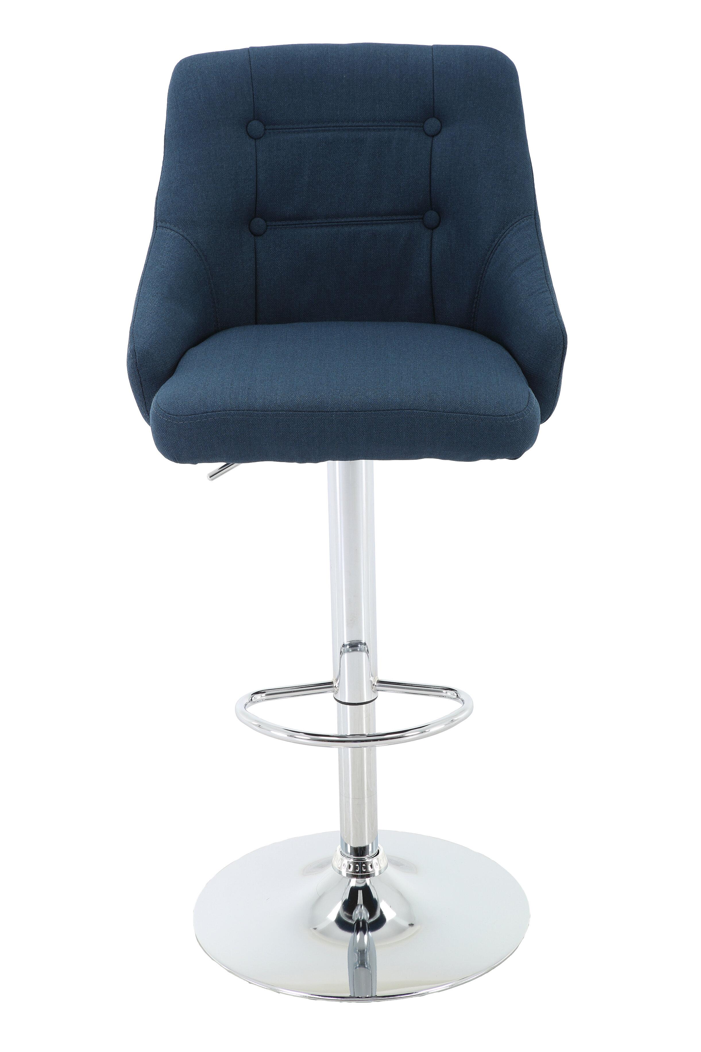 Pleasant Orren Ellis Aadvik Adjustable Height Swivel Bar Stool Wayfair Caraccident5 Cool Chair Designs And Ideas Caraccident5Info