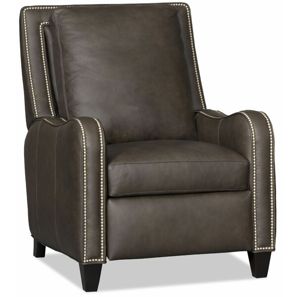 Greco Leather Manual Recliner by Bradington-Young