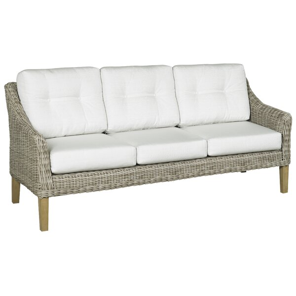 Eaglin Patio Sofa with Cushions by Highland Dunes