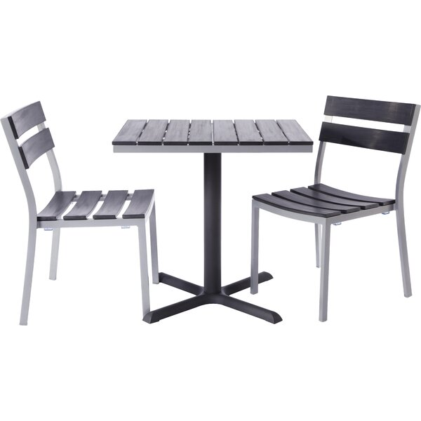 Milloy 3 Piece Bistro Set by Madbury Road