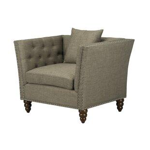 Compare prices Aldergrove Armchair by Charlton Home