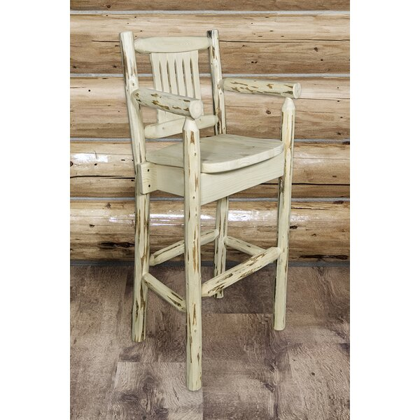 Abordale 30 Square Seat Bar Stool by Loon Peak