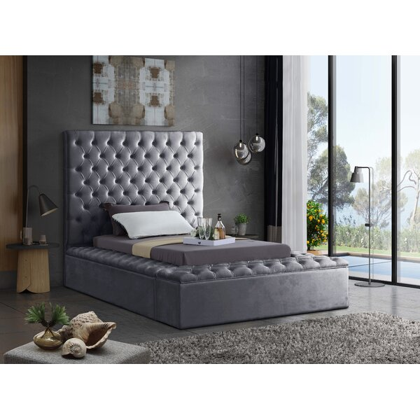 Tami Upholstered Storage Platform Bed by Willa Arlo Interiors