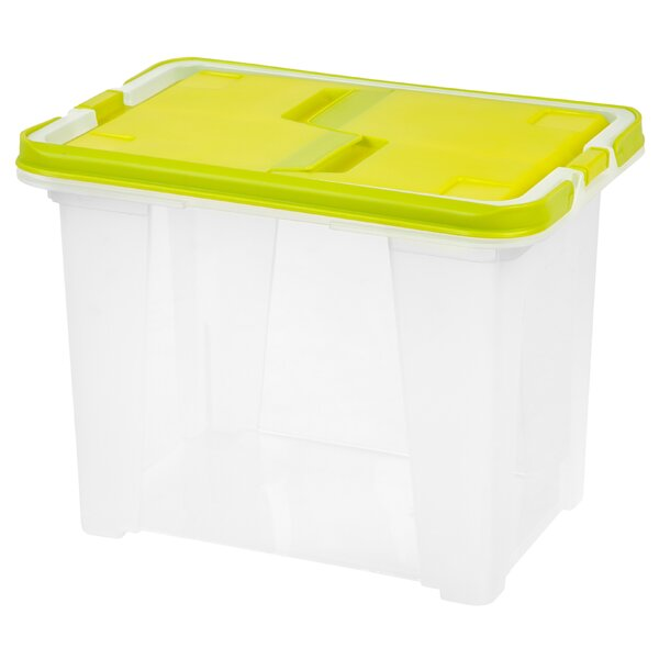 Portable Wing Lid File Box by IRIS USA, Inc.