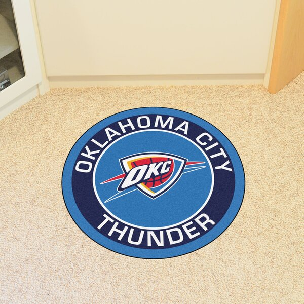 NBA Oklahoma City Thunder Roundel Mat by FANMATS