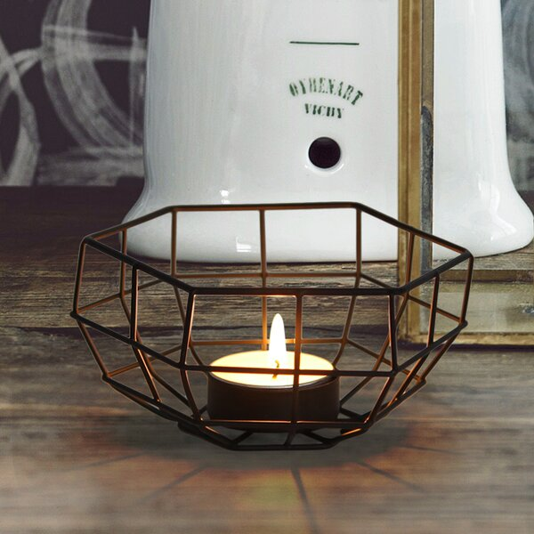 Iron Tealight by Adeco Trading