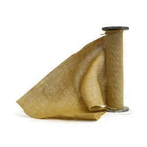Spool of Burlap Ribbon