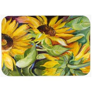 sunflowers kitchenbath mat - Sunflower Kitchen