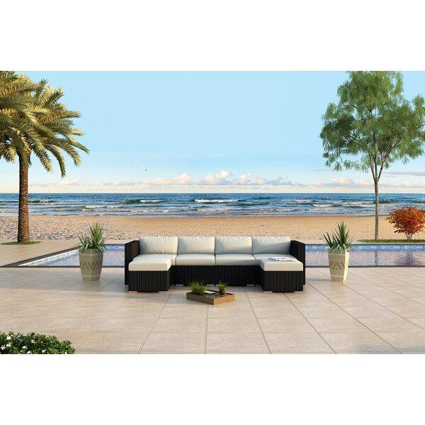 Azariah 6 Piece Sunbrella Sectional Set with Cushions by Orren Ellis