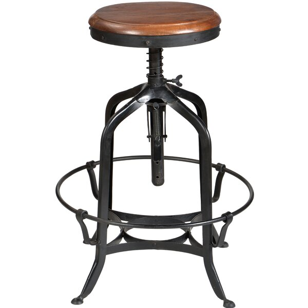 Adjustable Height Swivel Bar Stool by CDI International